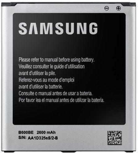 Samsung EB-B600BEBEGWW - Batería para móvil para Samsung Galaxy S4 i9505, i9500 (Li-Ion 2600 mAh) - http://www.tiendasmoviles.net/2015/09/samsung-eb-b600bebegww-bateria-para-movil-para-samsung-galaxy-s4-i9505-i9500-li-ion-2600-mah/