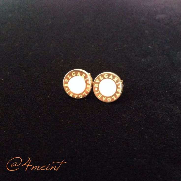 @4meint:  Aretes Bvlgari #acero #inoxidable.. #earrings #moda #bvulgari #style #accesorios #fashion #tendry