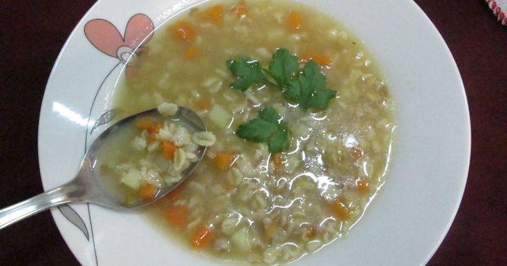 Fabulosa receta para Sopa de avena Quaker . Una sopa sencillita con pocos ingredientes pero muy nutritivos. Ideal para los días de otoño.