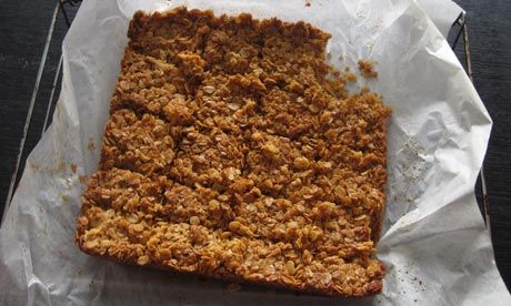 Felicity's perfect flapjacks. Photograph: Felicity Cloake