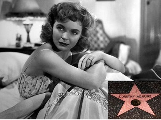 Academy Award nominee, movie and Broadway star Dorothy McGuire born in Omaha