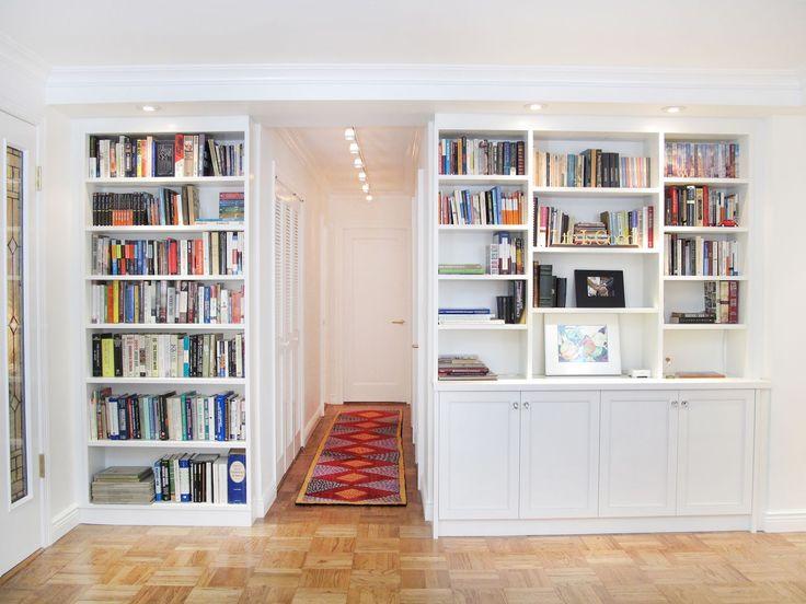 Urban Homecraft   Hallway entrance bookcases