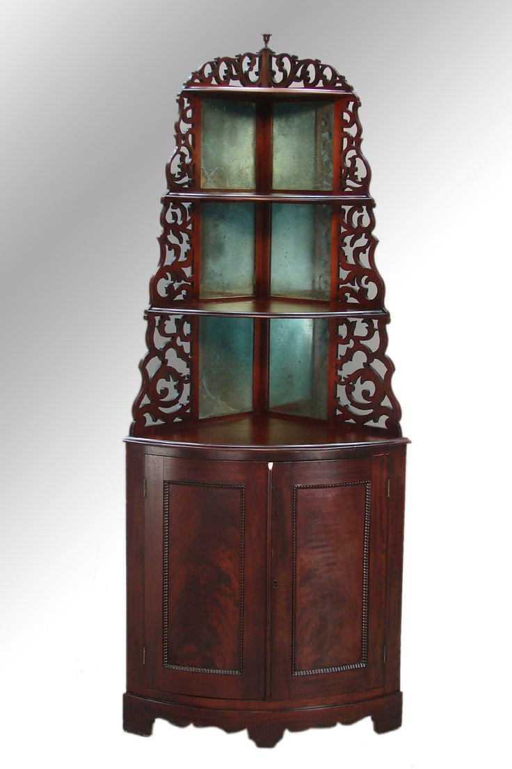 Antique Victorian Curio Corner Whatnot Dating from the 1860s era - 226 Best In The Corner Images On Pinterest Carving Wood