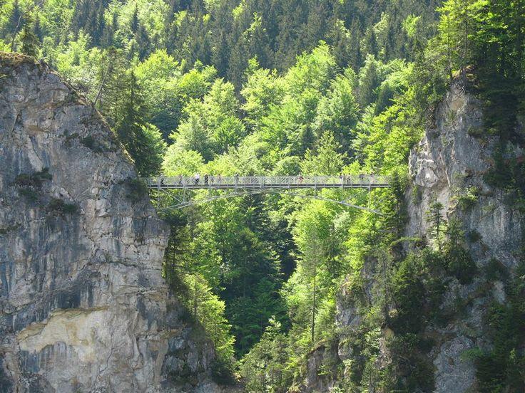 Marienbr 252 Ke Maria S Bridge Near Neuschwanstein Castle