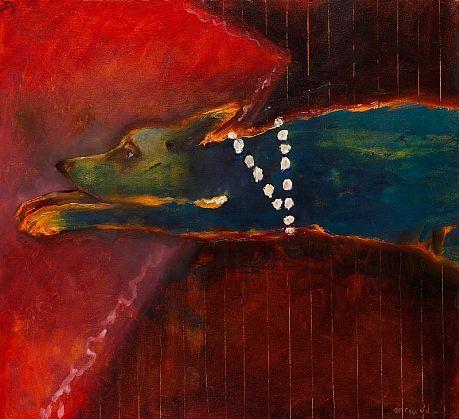 Mel McCuddin - 'The Fireside' - The Art Spirit Gallery of Fine Art