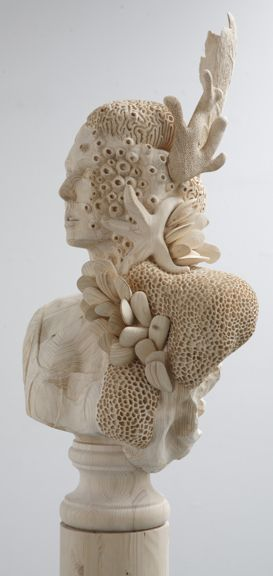 Morgan Herrin's Carved Forms | Beautiful/Decay Artist & Design