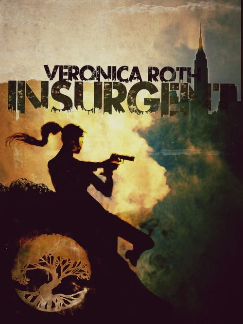 i love this fan-made cover #divergent #insurgent #allegiant