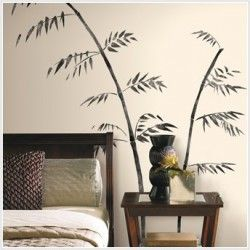 Painted Bamboo Giant Appliques