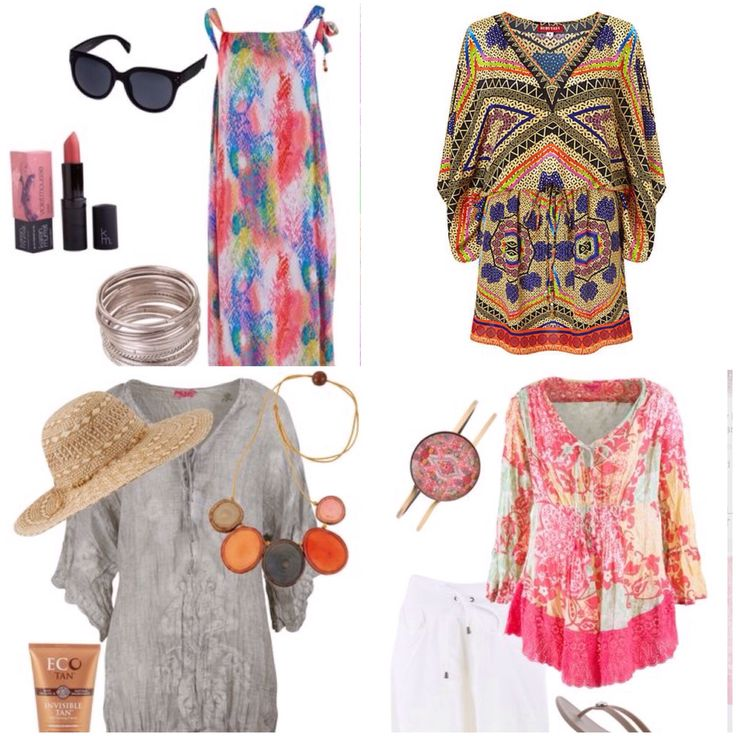 Travel wardrobe #resortwear