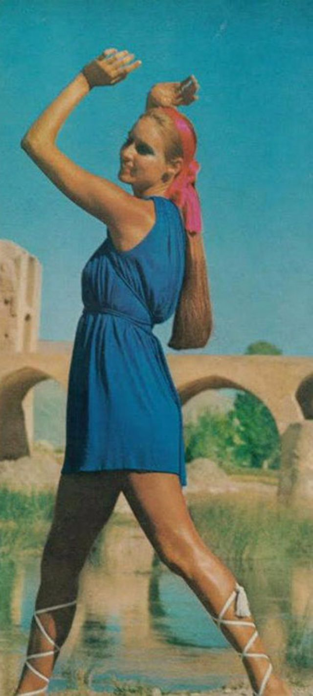 These 40 glamorous shots from 1970s fashion magazines reveal how Iranian women dressed before the Islamic Revolution.