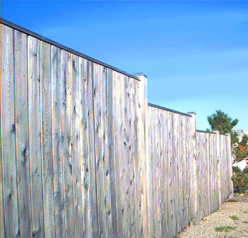 Fence Pictures: Privacy Fences on Slopes