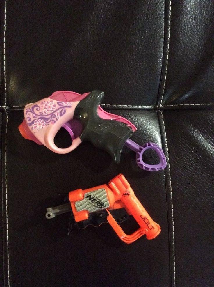 Nerf Gun's Two Small Single Guns #NERF