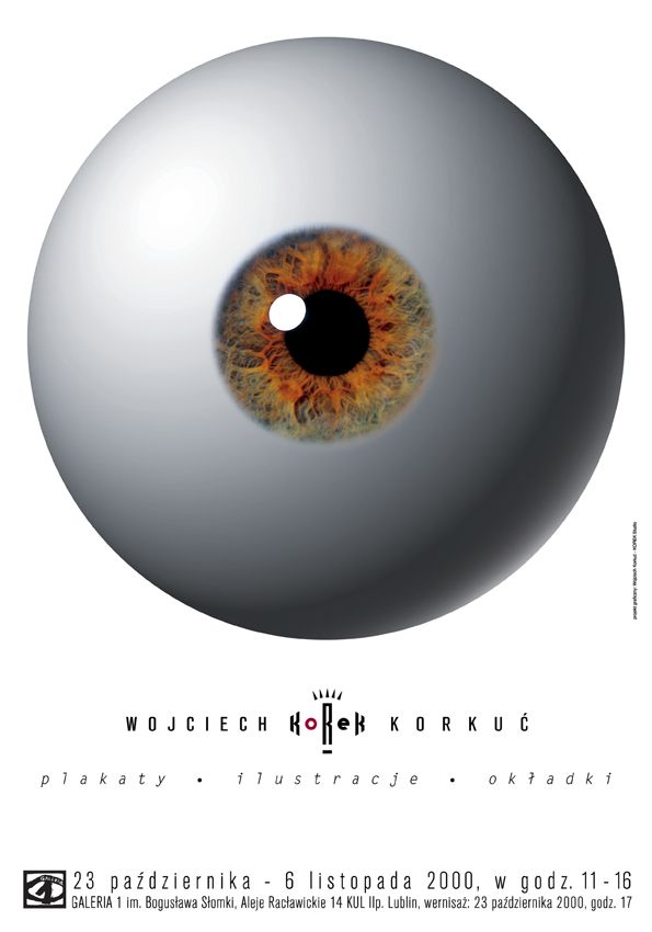 Wojciech Korkuć KOREK. Poster, ilustrations, covers, 2000