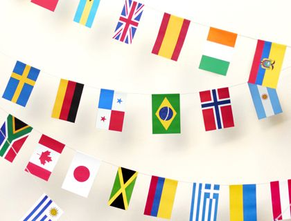 Printable geography activities and decorations. All free!