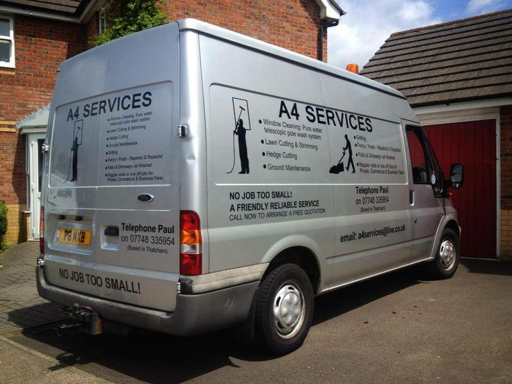 Vehiclelivery vehiclesignage van stickers scsigns business berkshire oxford