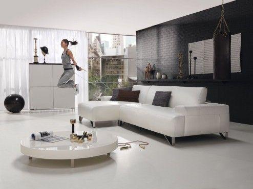 Die besten 25+ weißes Sofa Dekor Ideen auf Pinterest Wohnung - moderne wohnzimmergestaltung