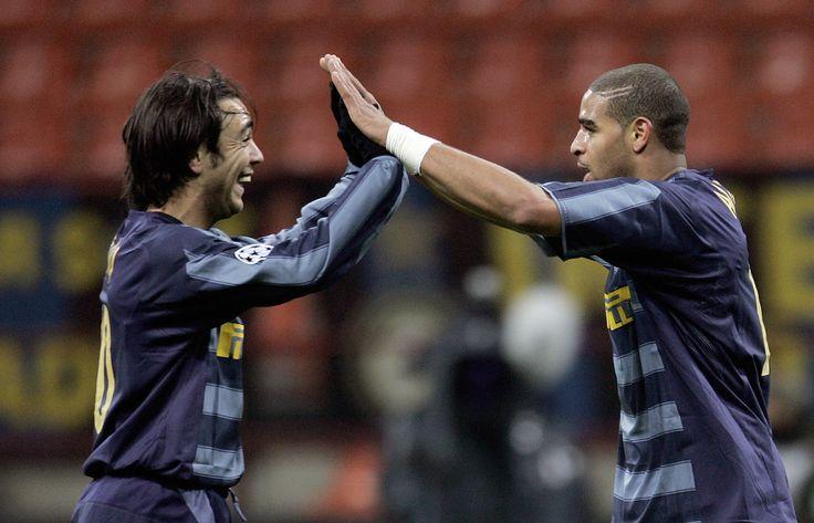Alvaro Recoba & Adriano - Inter Milan