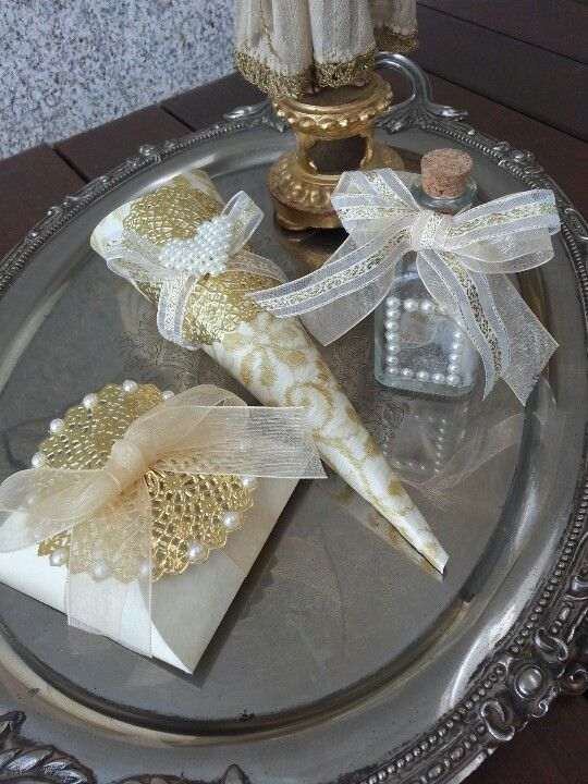Condessa Carlota Gold Collection wedding favors (for sale on Etsy/Condessa Carlota)