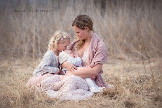 Maravillosas fotos en honor a la lactancia materna