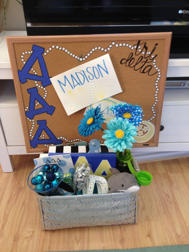 Tri Delta Little Basket!