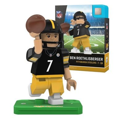 Pittsburgh Steelers Ben Roethlisberger Limited Edition Minifigure: Pittsburgh Steelers Ben Roethlisberger Limited Edition Minifigure