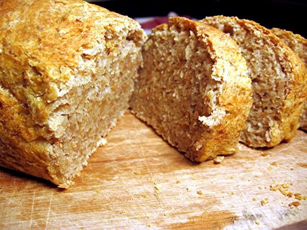 No-Knead Whole Wheat Sandwich Bread. Photo by Dreamer in Ontario