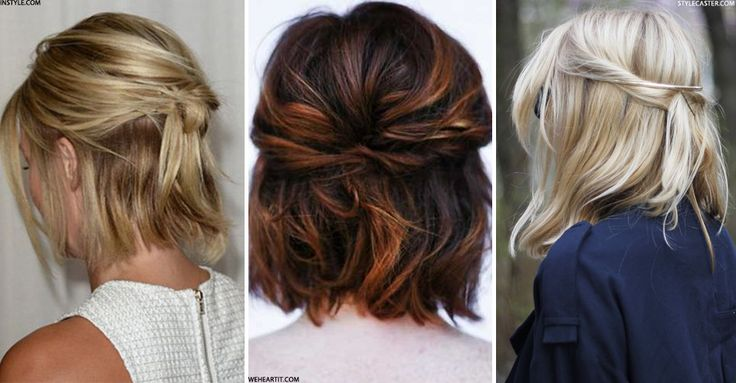 If you love your short hair but wish you could do a bit more with it then listen up, because there are plenty of chic but super-cool up-dos that work perfectly with shorter locks. From a boho-inspired take on the ubiquitous side braid to a polished version of this season's half-bun, we asked our expert Beauty Panel of hair gurus how to do it at home…