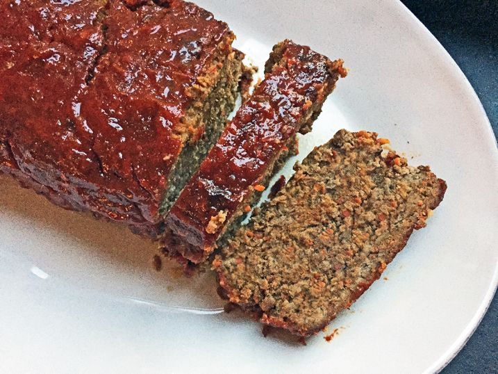Alton Brown's Meatloaf Recipe: I have always loved meatloaf. My mom made pretty good version when I was growing up, but she cooked it in a baking dish so there wasn't nearly enough crusty exterior. This one here though…just right.