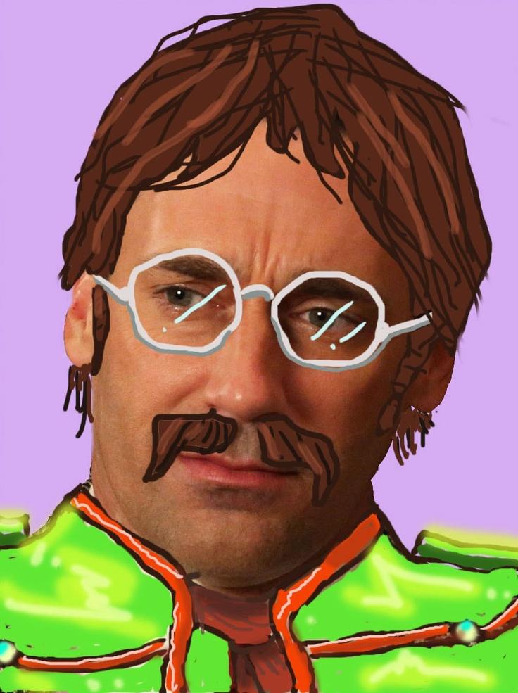Don Draper meets John Lennon