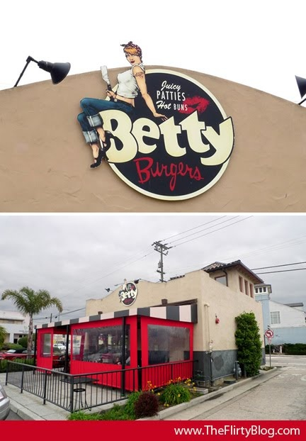 Betty Burgers, Santa Cruz.  Great burgers and fries.  I like the turkey burger with sweet potato fries.