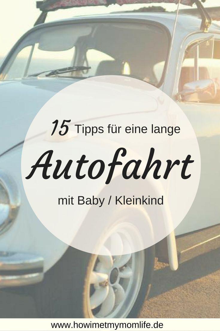 Dir steht eine lange Autofahrt mit Baby oder Kleinkind bevor? Auf meinem Blog verrate ich auch meine Tricks, damit auch ihr entspannt in den Familienurlaub starten könnt!