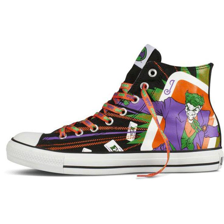 batman converse shoes dc x comic artworks san francisco