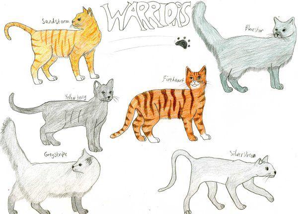 Warrior Cats By Rainbowgal On Deviantart Warriors