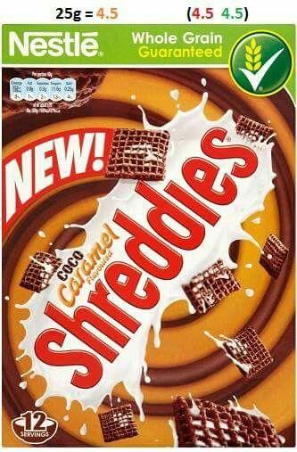 HE B shreddies