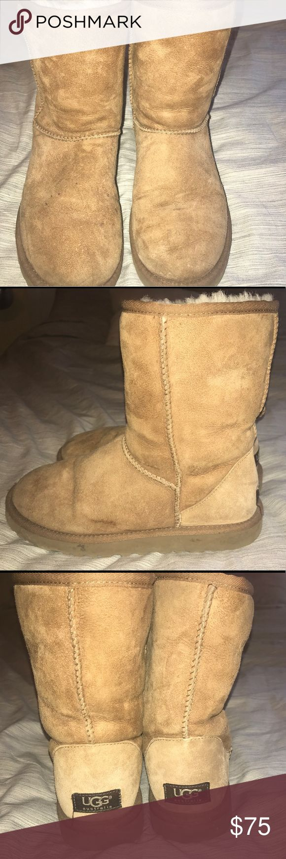 UGG Boot Classic II Short Good condition, some salt stains on the foot UGG Shoes Winter & Rain Boots