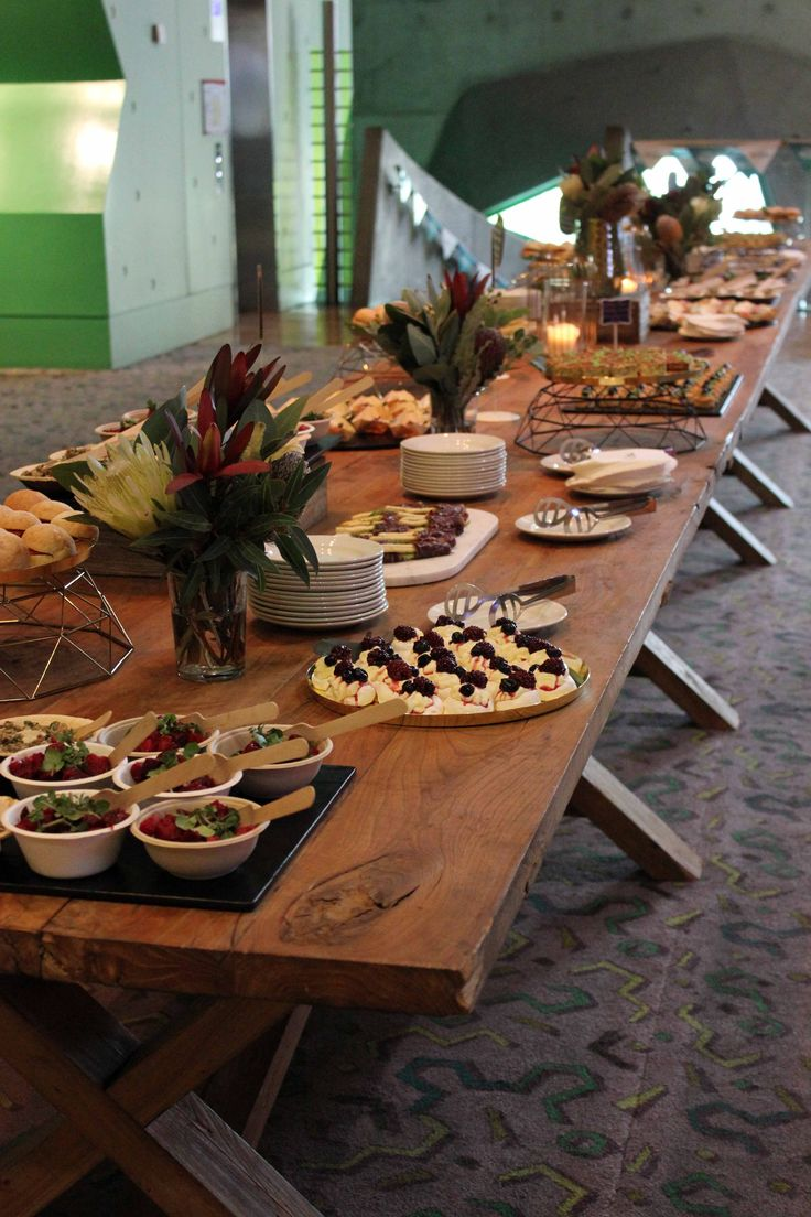 Grazing table by Cnk Catering at RMIT