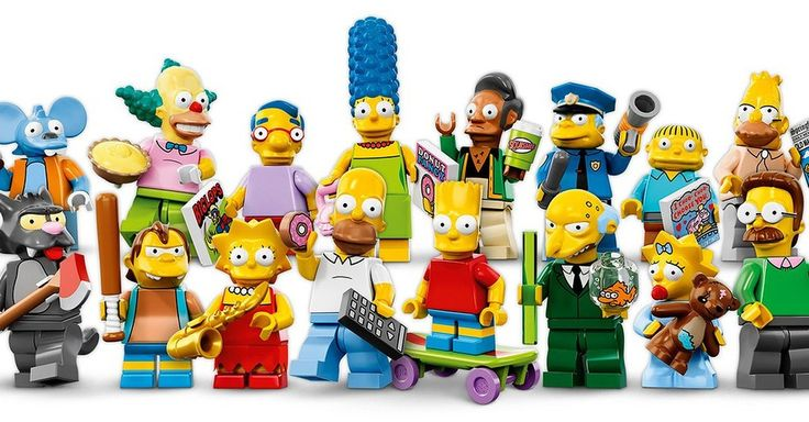 Legos Latest Simpsons Minifigures Are Diddly Delightful