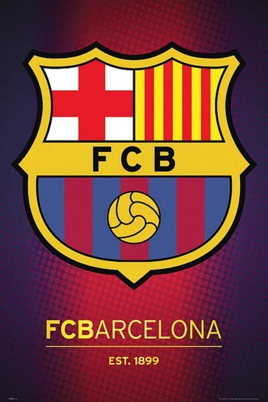 Barcelona Club Crest 2013 - Maxi Poster 61cm x 91.5cm (new & sealed)