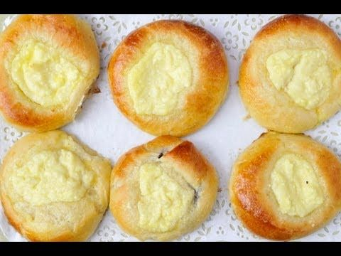 ▶ Recipe for Traditional Moravian Kolache - YouTube I remember these as cream cheese danishes from the bakery in my hometown...So yummy!!