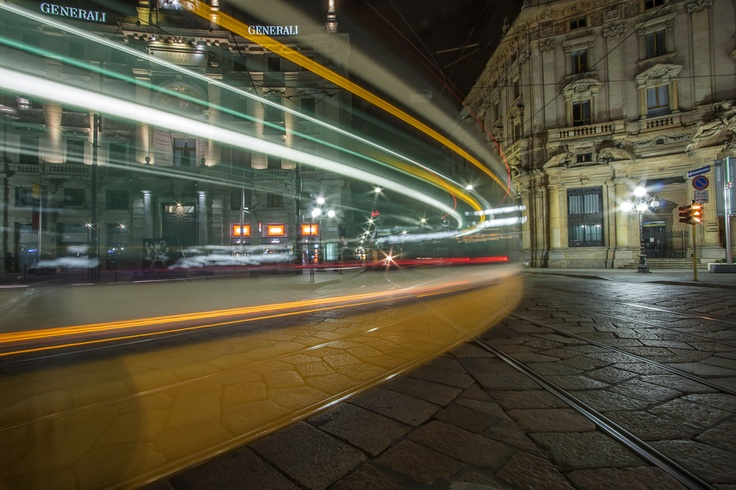 #Milan #Tram #Trail #Motion #Italy #Travel #Trip