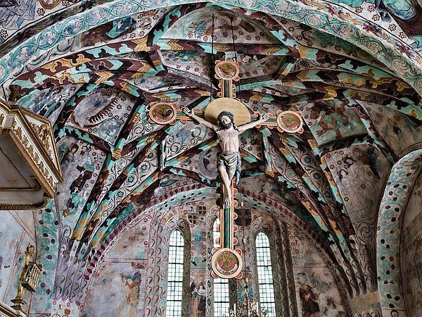 Crucifix Harkeberga church - Leif Sohlman