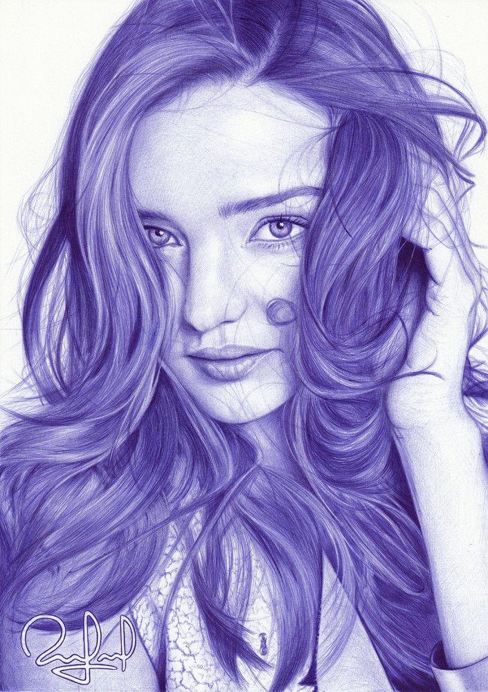 Картинка красивых девочек нарисованных