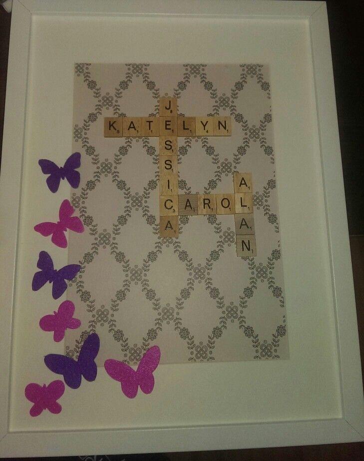 Family Gift — Scrabble