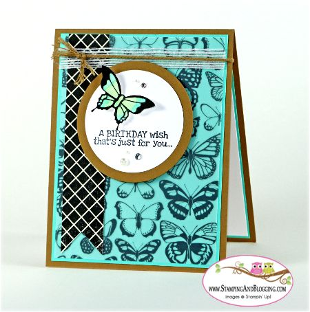 Remembering Your Birthday for Stamping and Blogging by Sandi @ www.stampingwithsandi.com