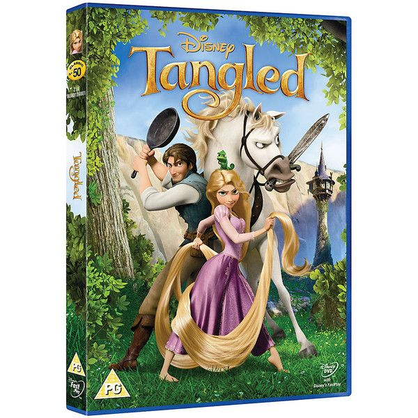 Tangled DVD ($9.02) ❤ liked on Polyvore featuring dvd, movies and filler