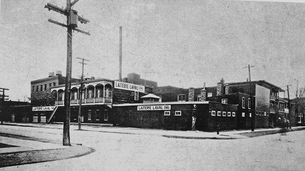La Laiterie Laval dans le quartier Limoilou vers 1930 - Mon Limoilou