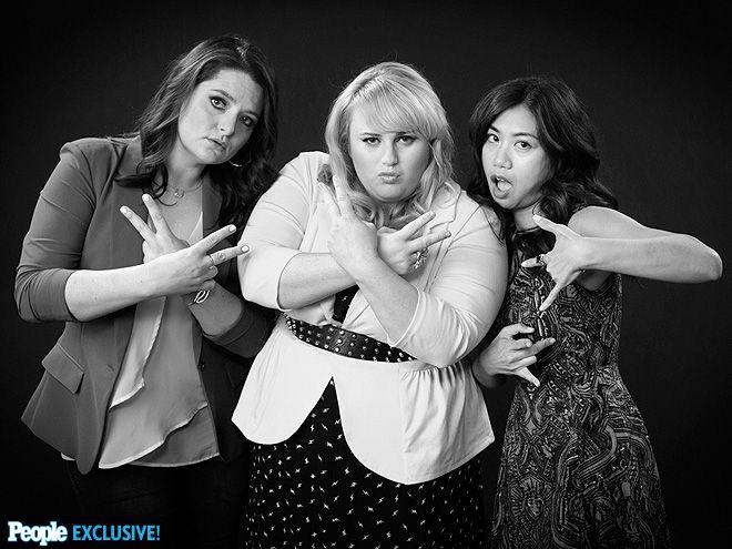 Rebel Wilson (Super Fun Night), Lauren & Liza at the 2013 TCA summer press tour
