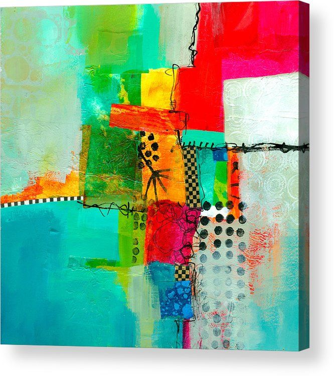 Fresh Paint 5 Acrylic Print By Jane Davies Abstract Painting Canvas Art