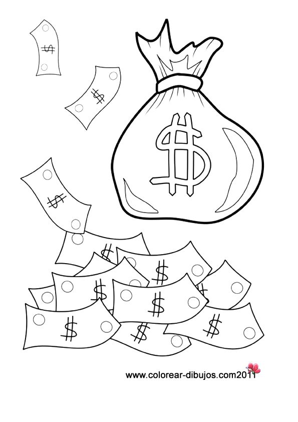 Dibujos De Honestidad Dinero Colorear Sample Vos Privacidad