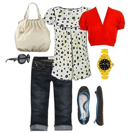 Mom on the go outfit 1